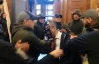 Гусовського облили зеленкою і побили перед засіданням Київради (оновлено)