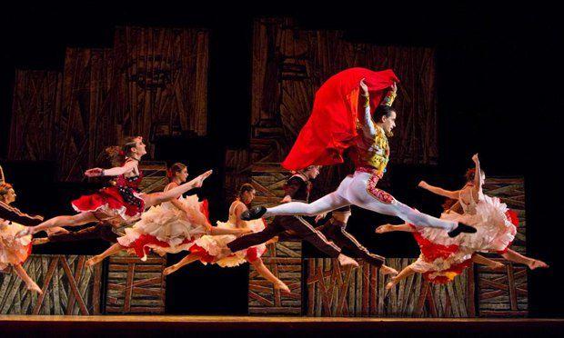 Фото из балета Кармен.TV Раду Поклитару