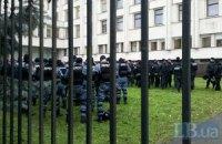Милиция предупредила, что готовится разгонять митинг под ЦИКом