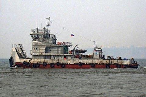 ВМЧС поведали  оходе поисков судна «Восток»