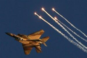 Израильские ВВС нанесли ответный удар по Ливану