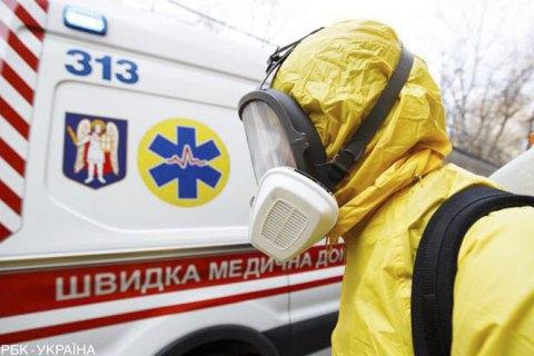 В течение суток в Украине госпитализировали рекордное количество пациентов с ковидом