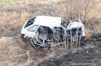 """У Запорізькій області п'яний водій """"дев'ятки"""" влетів у вантажівку, двоє загиблих"""
