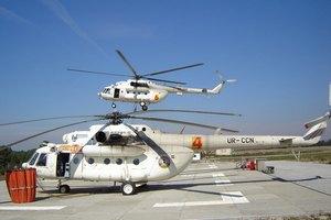 МВД вернуло четыре из 12 вертолетов, арендованных частной компанией