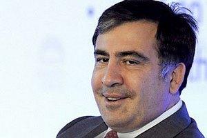 Саакашвили упал с велосипеда и сломал руку