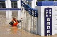 В Китае из-за наводнения эвакуируют тысячи людей