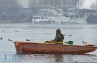 Співробітники ДержНС урятували 9 рибалок, які дрейфували на крижині