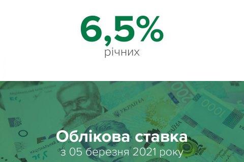 Нацбанк півроку не змінює облікову ставку