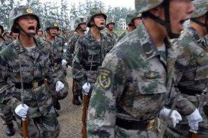 Китай збільшує військовий бюджет