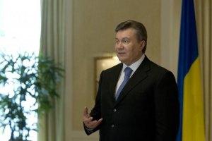 Янукович: я вірю в Україну, в її успіх і процвітання