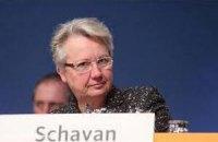 Німецького міністра освіти викрили в плагіаті