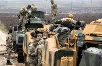 Турция расширит военную операцию на всю границу с Сирией