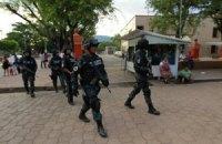 Федеральные власти Мексики полностью разоружили полицию города Игуала