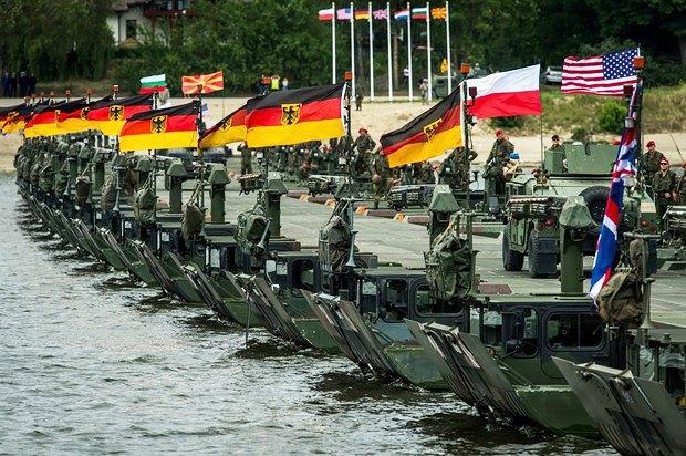 Совместные учения стран NATO ANAKONDA16 в Польше