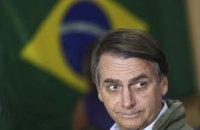 Президент Бразилії заявив, що не буде щепитися від коронавірусу