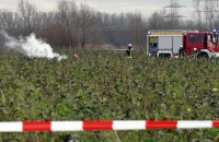 В Германии столкнулись спортивный самолет и вертолет, есть погибшие