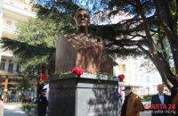 В Ялте открыли памятник 32-му президенту США Рузвельту