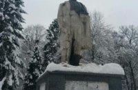 В Стрые неизвестные отбили голову бронзовому памятнику Тарасу Шевченко