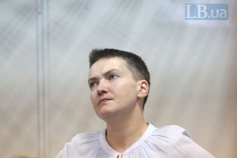 Суд не смог продлить арест Савченко
