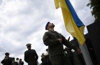 Віталій Марків підняв національний прапор на Меморіалі Героїв Небесної Сотні у Львові