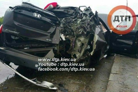 Автомобіль нардепа Геращенка потрапив у ДТП