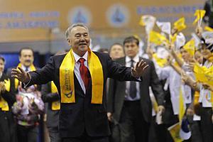 Назарбаев одержал победу на выборах президента