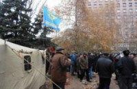 Чернобыльцы требуют отставки Януковича и парламента