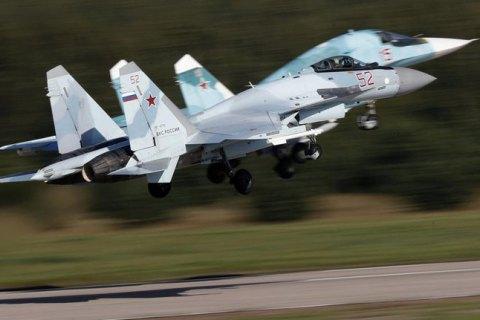 В Росії винищувач Су-35 впав у море