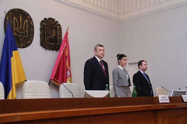 Чернов - ліворуч