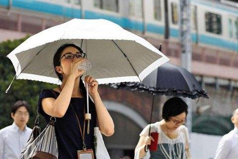 Из-за жары в Японии погибло 23 человека и 12 тысяч госпитализированы