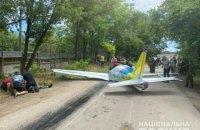 В Одессе упал легкомоторный самолет, погибли два пилота (обновлено)