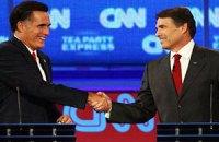 Ромни предложил Перри пари на 10 тысяч долларов