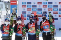 Україна зайняла 7-е загальнокомандне місце в медальному заліку ЧС-2 021 з біатлону