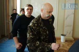 Турчинов пообіцяв кримським військовим статус учасників бойових дій