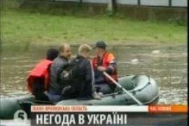 Непогода обесточила 4 области Украины