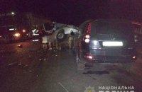 У потрійній ДТП у Миргороді загинули двоє людей, ще двоє - поранені