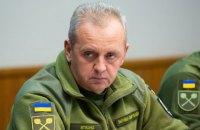 Муженко: загроза російського вторгнення - найвища з 2014 року