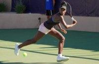 На турнірі ITF тенісистки почубилися просто на корті