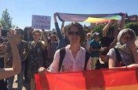 На Оболонській набережній у Києві пройшов Марш рівності