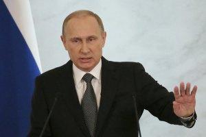Путін: падіння рубля - розплата за бажання зберегти себе як цивілізацію