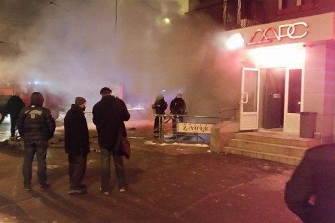 У кафе в центрі Харкова стався вибух