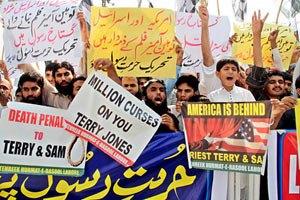 До посольств США в Судані та Тунісі увірвалися демонстранти
