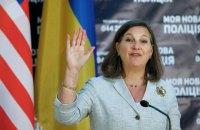 Нуланд: Россия останется под санкциями, пока Украина не получит контроль над границей