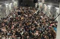 Американський літак за один рейс евакуював із Кабула 640 афганців