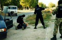 Запорізька міліція затримала чоловіків із вибухівкою