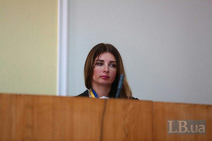 Судья Кристина Тарасенко