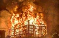 В Миннеаполисе сожгли отделение полиции после гибели задержанного афроамериканца
