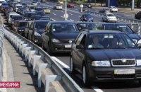 Приезжие смогут зарегистрировать свои авто в Киеве