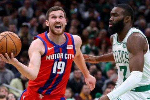 Михайлюк набрал 1 000-ое очко в НБА