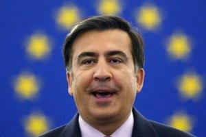 Саакашвили отложил обращение к нации из-за акции протеста